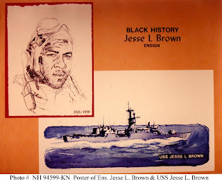 Ensign Jesse LeRoy Brown, USN, (1926-1950)