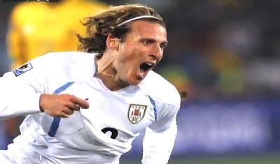 Diego Forlán Uruguay 2010 FIFA World Cup