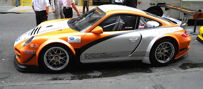 Porsche 911 GT3 R Hybrid Race Car