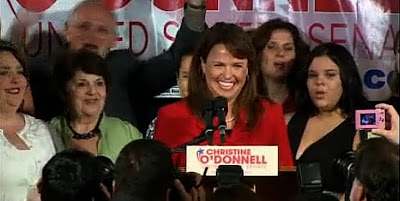 Christine O'Donnell acceptance (victory) speech