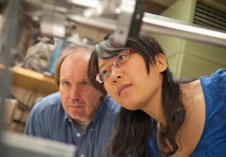 Lan Zhou and Randy Headrick, University of Vermont