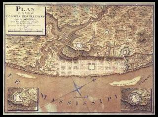 Plan de la Ville de St. Louis