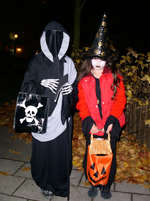 Halloween Trick or treat in sweden