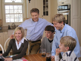 Dr. Rand Paul and Family