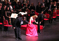 Soprano Melina Pyron, tenor Scott Ramsay, and conductor Karen Lynne Deal