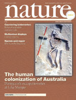 Nature cover, 20 February 2003