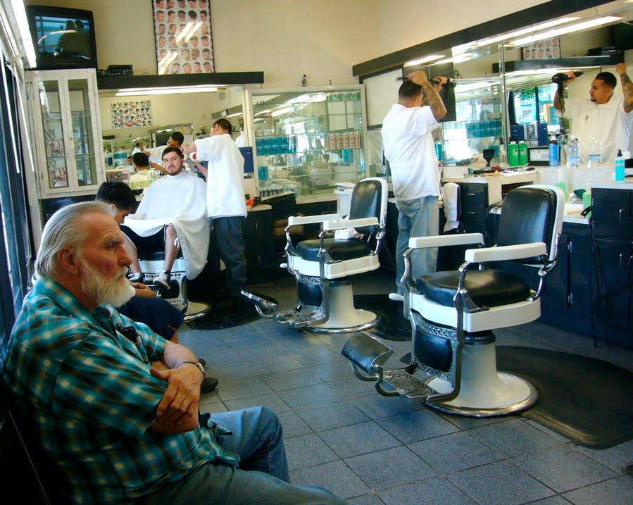Barber Shop Highland Park : Art Rat : June 2010