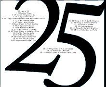 25 lists