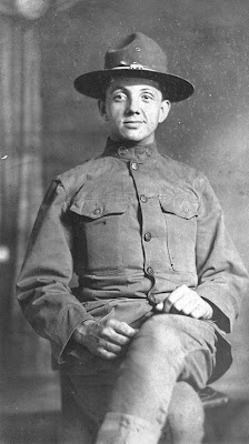 J. Forrest Cain circa 1919 France WWI
