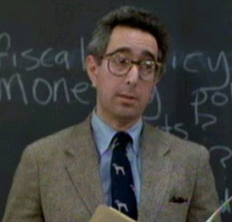 Ben Stein, The teacher in Ferris Bueller's Day Off (1986)