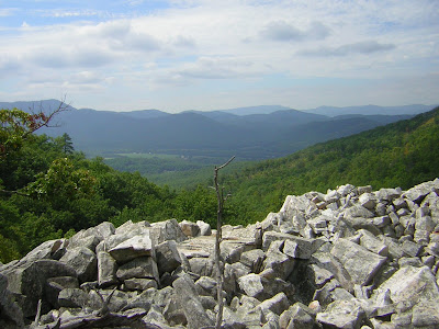 Devil's Marbleyard, VA photo by Maggi Chamberlain