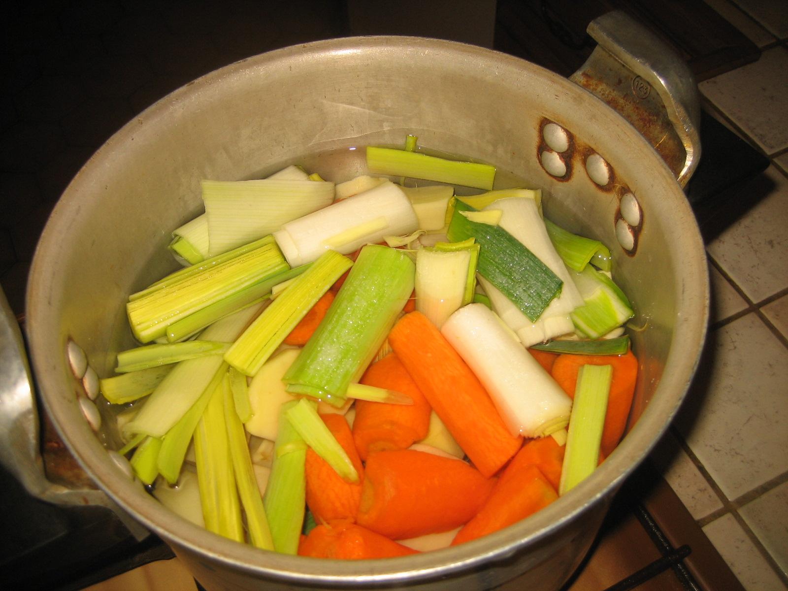 Le blog de cathoune les soupes maison - Soupe de legume maison ...