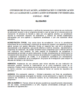OFICINA DE EVALUACIÓN Y ACREDITACIÓN ACADÉMICA