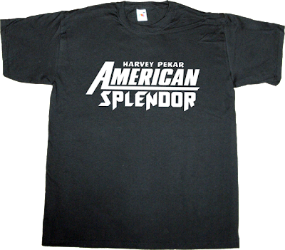 american splendor harvey pekar movie underground comic t-shirt  ephemeral-t-shirts