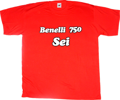 Bikes Motorcycle benelli six cylinder t.shirt ephemeral-t-shirts