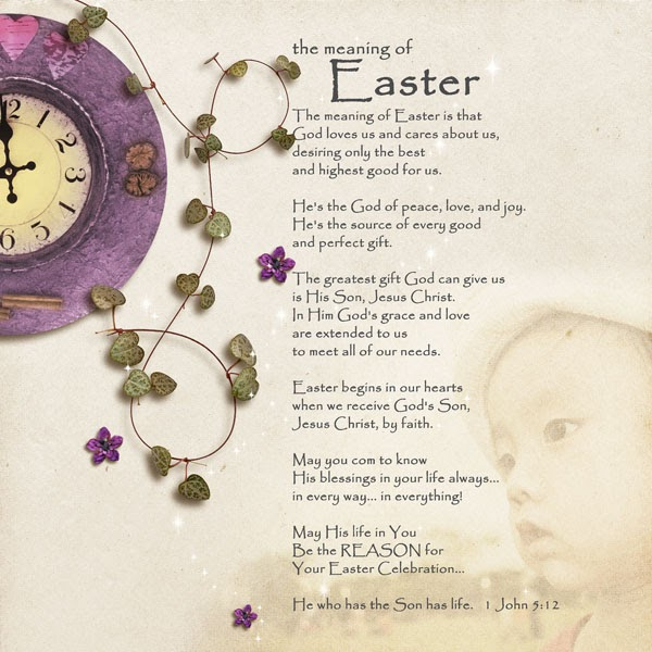 RuthMelody Designs: The meaning of EASTER