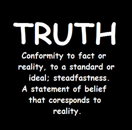 a definition of truth Historical truth, as sigmund freud conceived it, can be defined as a lost piece of the subject's lived experience that is accessible only through the work of construction the term historical here refers to origins, which explains why historical truth can be presented as a kernel of truth in .