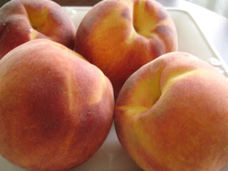 St Jacobs Market fresh peaches