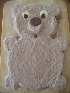 The Teddy Bear Cake!