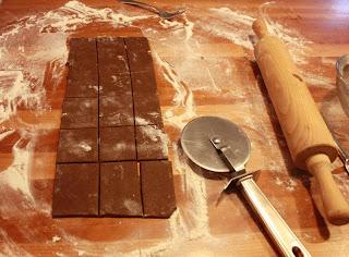Prepping the Graham Cracker Dough