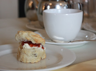 Scone with Coddled Cream & Jam