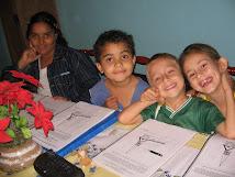 Mais alguns alunos da Vila
