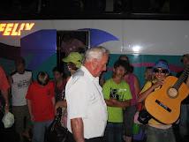 Hora da chegada em Corbélia, Missão cumprida. Sob a bênção de Deus, sãos e salvos.