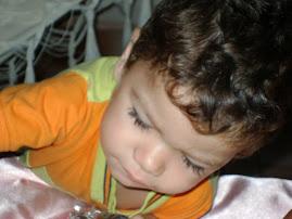 meu neto Regis Gabriel