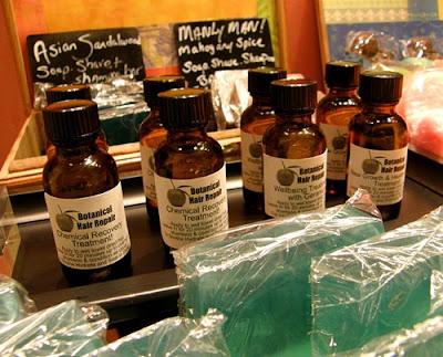 natural hair repair serum
