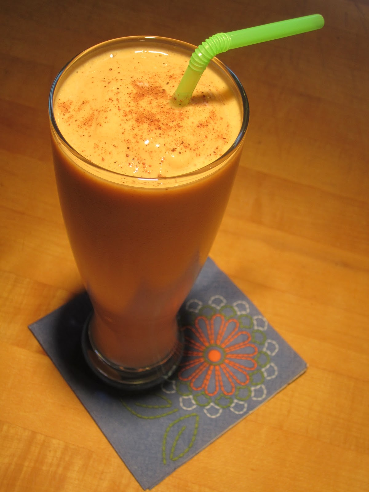 Pumpkin Pie Protein Smoothie Recipe - The Lemon Bowl