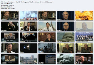 Alex Jones - Fall Of The Republic: The Presidency Of Barack Obama DVDRip