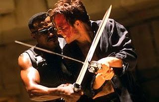 blade sword of the daywalker movie sword replica fight deacon frost