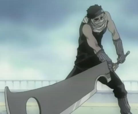 Huge Zabuza Momochi sword