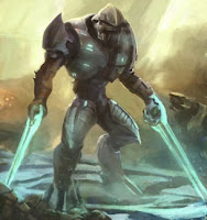 Duel Halo Energy Sword