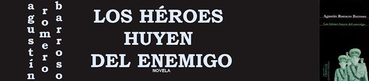 los héroes huyen del enemigo