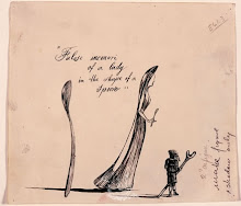 Ink Drawing by Salvador Dali