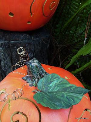rotozip handmade halloween foam pumpkin