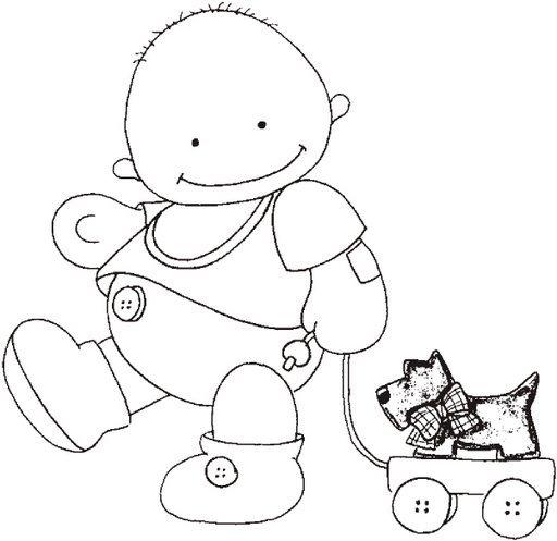 Mi colección de dibujos: ? Dibujos de tiernos bebés ?