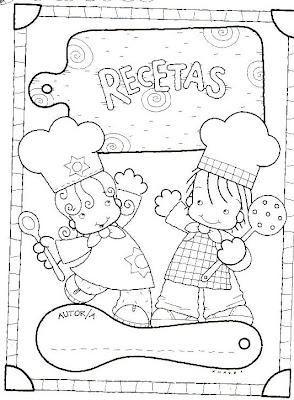 El rincon de la infancia tapas de cuaderno para recetas - Como hacer tapas faciles ...