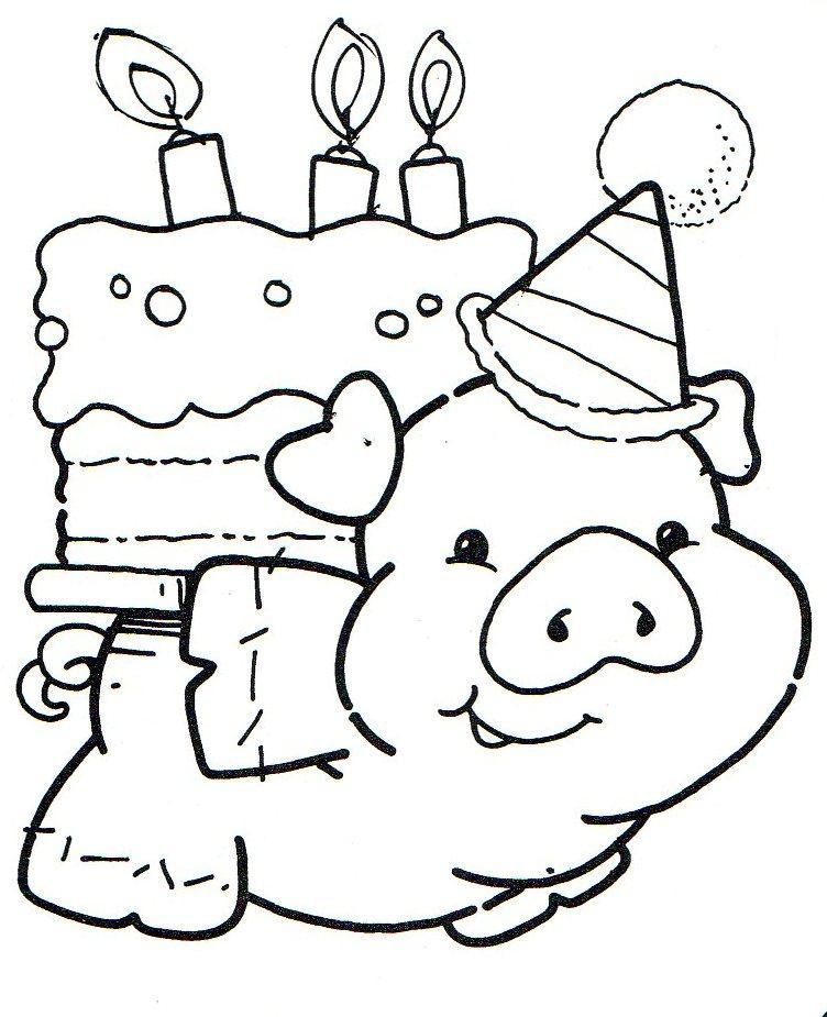 Fantástico Feliz Cumpleaños Grandpa Para Colorear Foto - Páginas ...