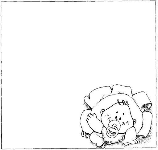 Mi colección de dibujos: ♥ Dibujos de bebés para colorear