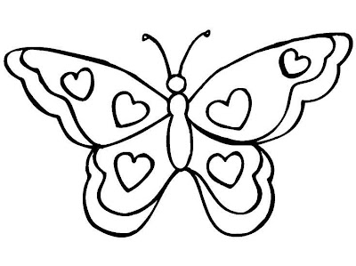 Mi colección de dibujos: ♥ Lindas mariposas para colorear