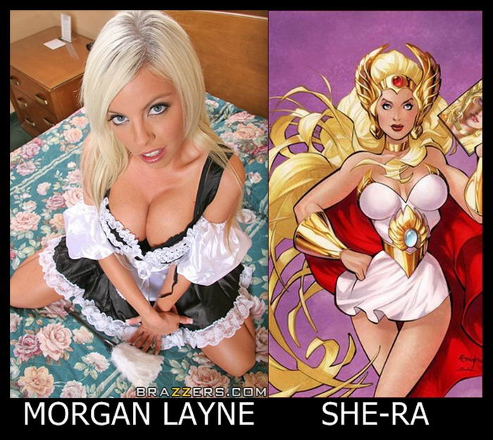 Morgan Layne como She-ra