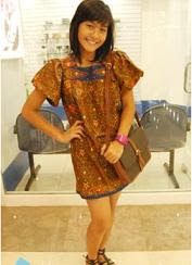 young beauty batik