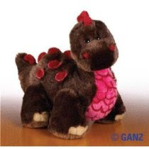 Webkinz Ganz Large Cocoa Dinosaur August 2008 Brand New Release Hm-338