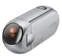 Samsung HMX-R10 HD Flash Memory Camcorder w/5x Optical Zoom (Silver)