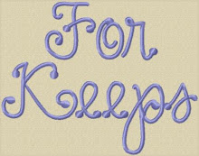 For Keeps Font