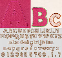 Piccadilly Applique Font