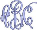 Circle Script Monogram