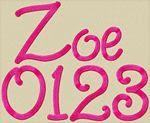 Zoe Font
